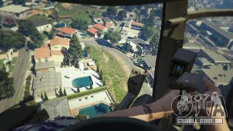 GTA 5 MH-6/AH-6 Little Bird Marine sexta imagem de tela