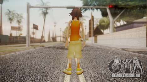 Kingdom Hearts 2 - Olette para GTA San Andreas terceira tela