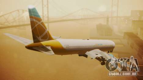 Boeing 767-300 Orbit Airlines para GTA San Andreas esquerda vista