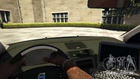 GTA 5 Volvo C30 Unmarked Police voltar vista