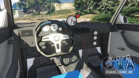 GTA 5 VAZ-2107 Redline 61 vista lateral direita