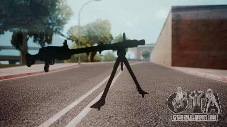 MG-34 Red Orchestra 2 Heroes of Stalingrad para GTA San Andreas segunda tela