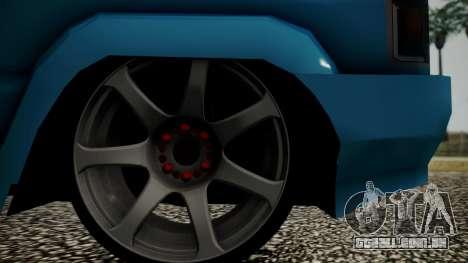 Toyota Kijang Tuned Stance para GTA San Andreas vista traseira