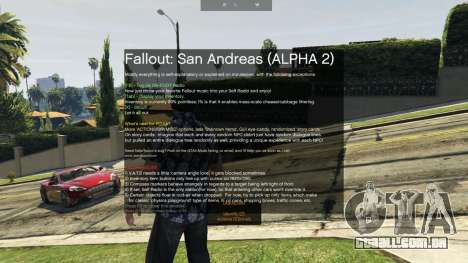 GTA 5 Fallout: San Andreas [.NET] ALPHA 2 segundo screenshot