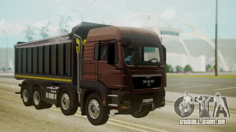 MAN TGS 8x4 Dumper para GTA San Andreas
