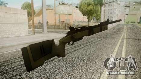 M40A5 Battlefield 3 para GTA San Andreas segunda tela