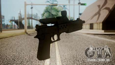 Silenced Pistol from RE6 para GTA San Andreas segunda tela