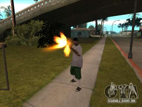 New Beta Skin para GTA San Andreas terceira tela