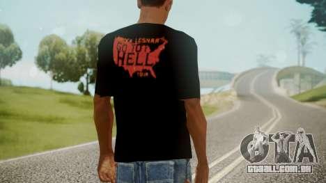 Brock Lesnar Shirt v1 para GTA San Andreas terceira tela