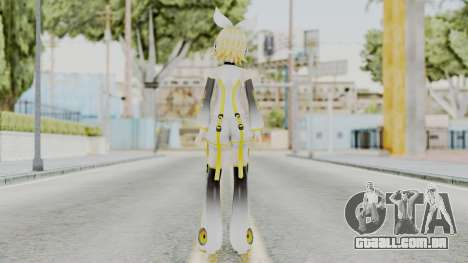 Project Diva F 2nd - Kagamine Rin Append para GTA San Andreas terceira tela