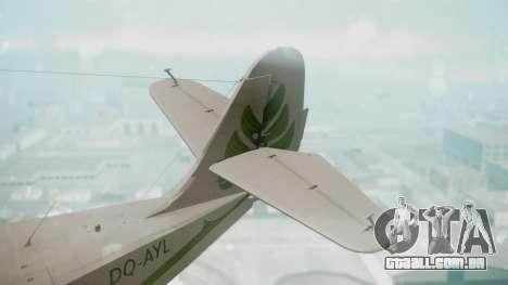 Grumman G-21 Goose DQAYL para GTA San Andreas traseira esquerda vista