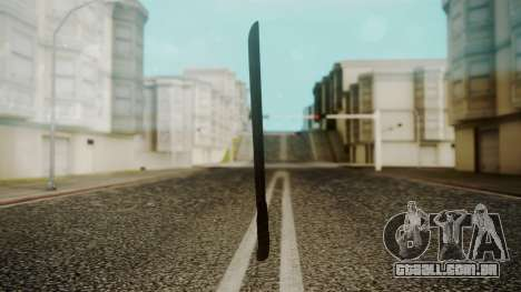 Machete from Friday the 13th Movie para GTA San Andreas segunda tela