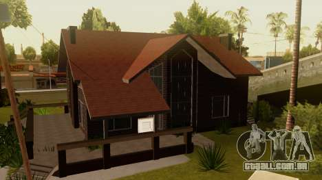 New Ryder House para GTA San Andreas segunda tela