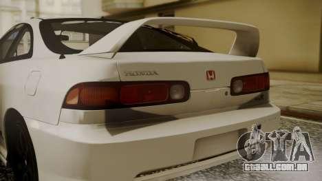 Honda Integra R Spoon para GTA San Andreas vista traseira