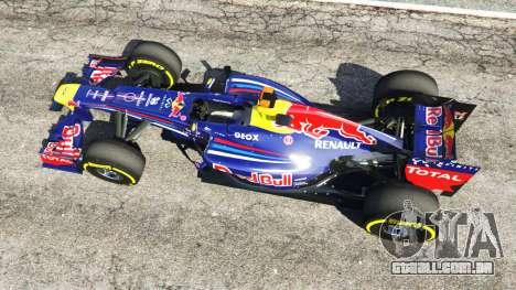 GTA 5 O Red Bull RB8 [Sebastian Vettel] voltar vista