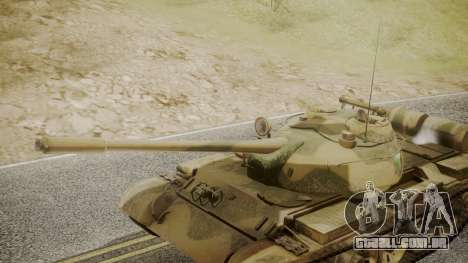 T-55 para GTA San Andreas vista direita
