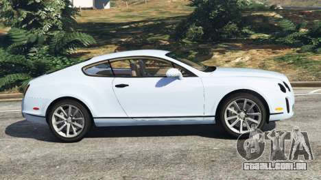 GTA 5 Bentley Continental Supersports [Beta] vista lateral esquerda