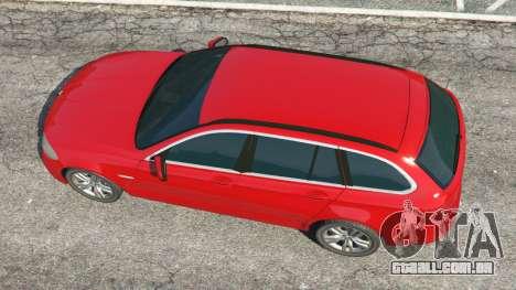 GTA 5 BMW 525d (F11) Touring 2015 (UK) voltar vista