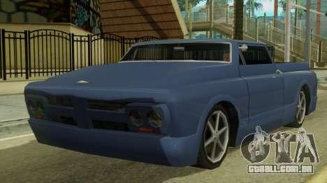 Kounts Pickup PaintJob para GTA San Andreas