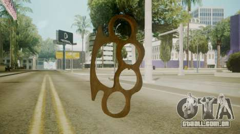 Atmosphere Brass Knuckles v4.3 para GTA San Andreas segunda tela