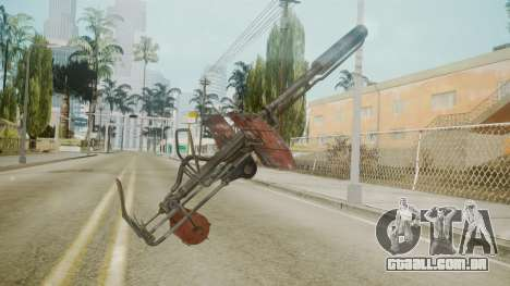 Atmosphere Flame Thrower v4.3 para GTA San Andreas segunda tela