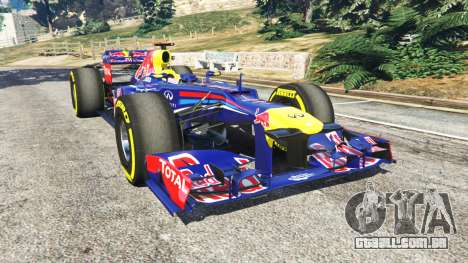 O Red Bull RB8 [Sebastian Vettel] para GTA 5
