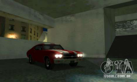 Chevrolet Chevelle SS [Winter] para GTA San Andreas