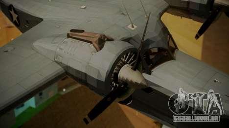 Grumman G-21A Goose para GTA San Andreas vista direita