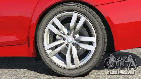 GTA 5 BMW 525d (F11) Touring 2015 (UK) traseira direita vista lateral