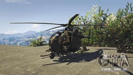 GTA 5 MH-6/AH-6 Little Bird Marine segundo screenshot