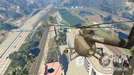 MH-6/AH-6 Little Bird Marine para GTA 5