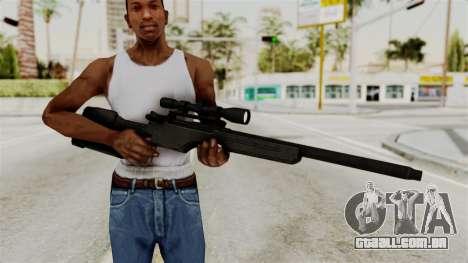 Rifle from RE6 para GTA San Andreas terceira tela