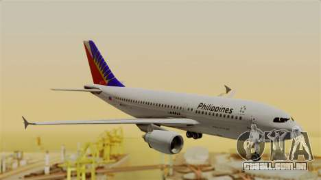 Airbus A310-300 Philippine Airlines Livery para GTA San Andreas