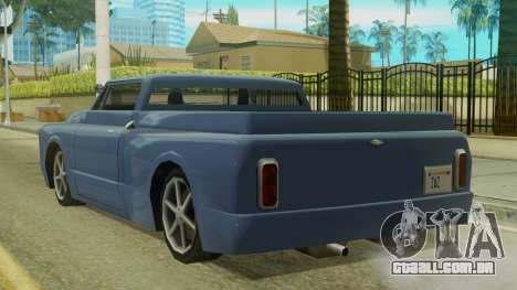 Kounts Pickup PaintJob para GTA San Andreas esquerda vista