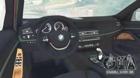 GTA 5 BMW 525d (F11) Touring 2015 (UK) vista lateral direita