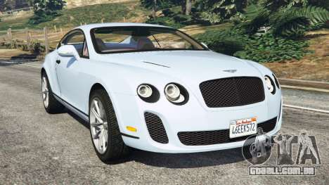 Bentley Continental Supersports [Beta] para GTA 5