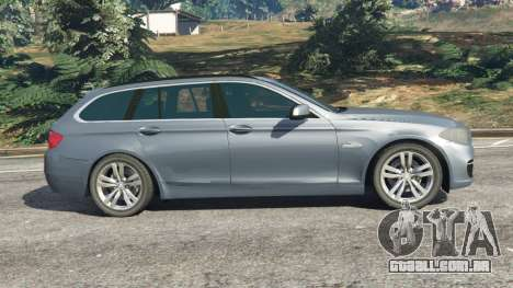 GTA 5 BMW 525d (F11) Touring 2015 (US) vista lateral esquerda