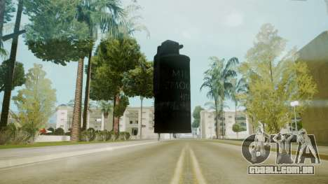 Atmosphere Tear Gas v4.3 para GTA San Andreas segunda tela