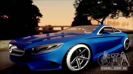 Mercedes-Benz S Coupe Vossen cv5 2014 para GTA San Andreas