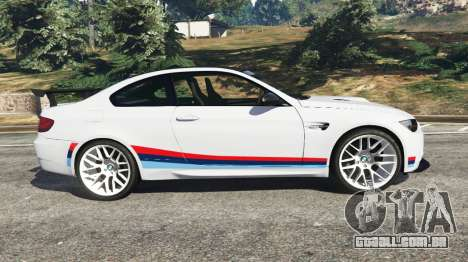GTA 5 BMW M3 GTS vista lateral esquerda