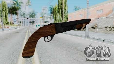 Sawnoff Shotgun from RE6 para GTA San Andreas segunda tela