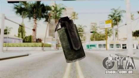 Grenade from RE6 para GTA San Andreas