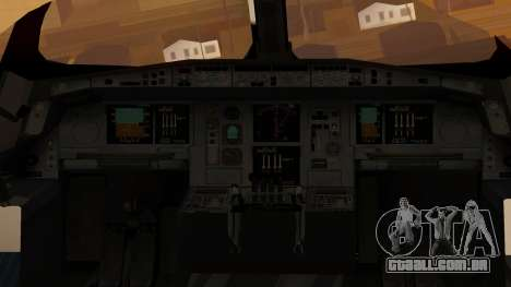 Airbus 350-900XWB Around The World para GTA San Andreas vista traseira