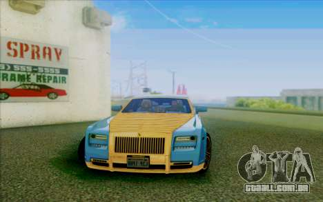 Rolls-Royce Ghost Mansory para GTA San Andreas