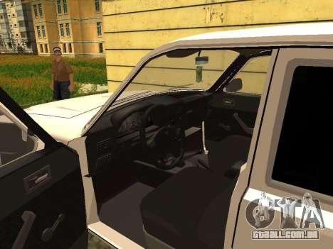 GAZ 3102 Volga para GTA San Andreas vista traseira
