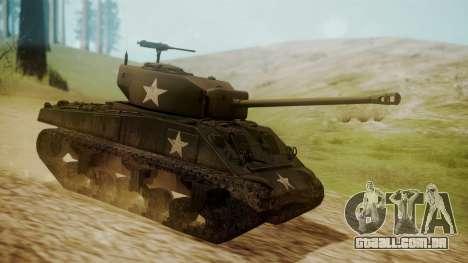 M4A3(76)W Sherman para GTA San Andreas