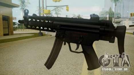 Atmosphere MP5 v4.3 para GTA San Andreas segunda tela