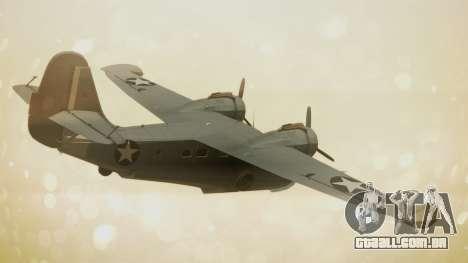 Grumman G-21A Goose para GTA San Andreas esquerda vista