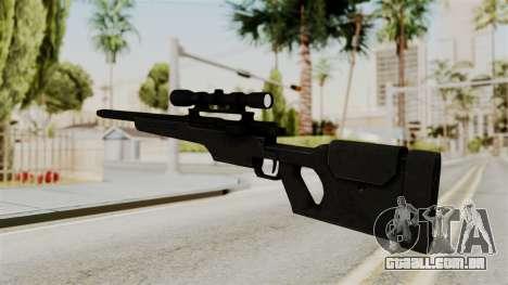 Rifle from RE6 para GTA San Andreas segunda tela
