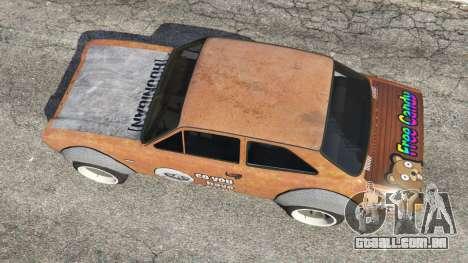 GTA 5 Ford Escort MK1 v1.1 [Hoonigan] voltar vista